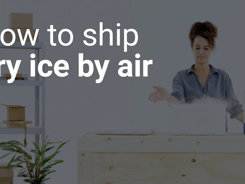 Guide to Ship Dry Ice and Transportation UK